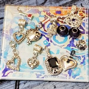Lot of charms one Brighton earring